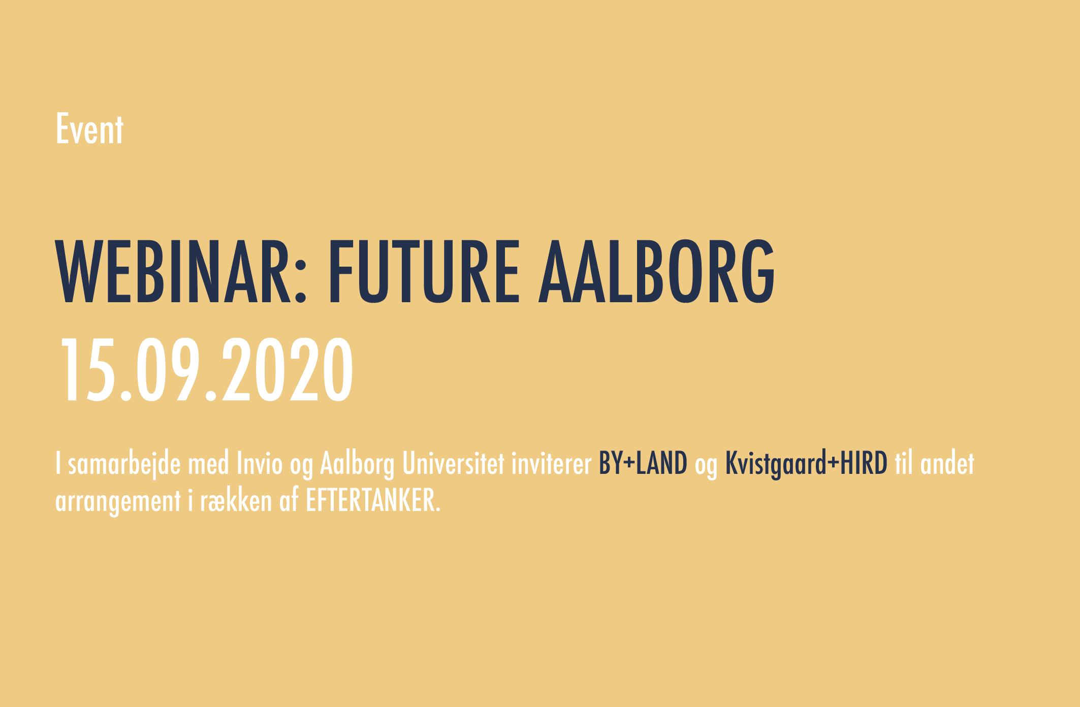 Eftertanker – Future Aalborg